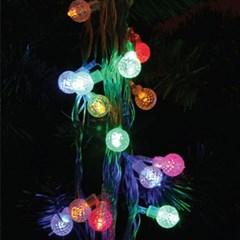 LED 50P 큐빅 투명선 (백색,웜,칼라)