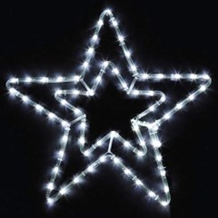 LED 논네온 별 70cm (웜/백색)