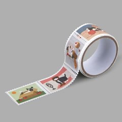 Masking tape : stamp - 17 Daily cats