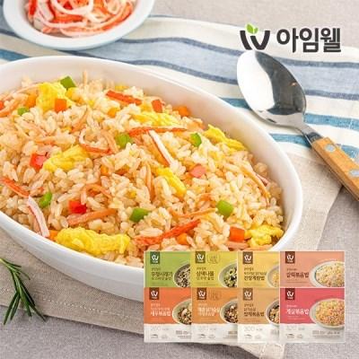 [아임웰] 집밥보다 맛있는 라이트밀 영양곤약밥 8종 골라담기