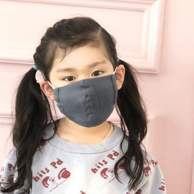 [율그란] 맘앤키즈 무형광 오가닉 어린이마스크 (6세~성인) 4컬러