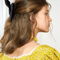 Ribbon Choker_Yellow