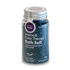 Aroma Spa Bath 국산 천일염 입욕제 100g_포도향