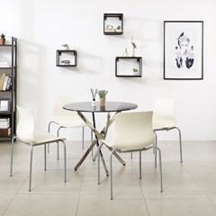 K35 미팅 900 원형테이블 의자 세트_(1567341)