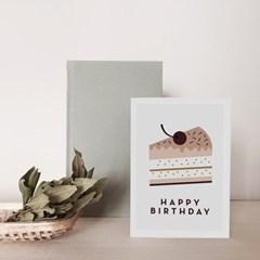 미슈카스 디자인 생일 카드 - [Michoucas Design] Birthday Cake
