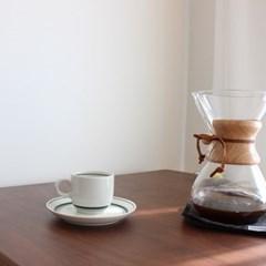 카네수즈 커피컵&소서(그린)165cc