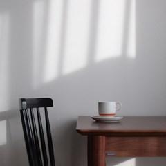 카네수즈 오렌지 커피잔 받침세트(265cc)