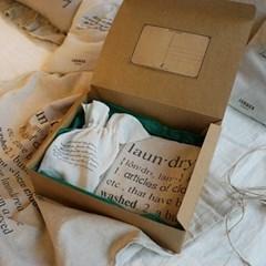잼머 런드리 선물세트 : JAMMER Laundry SET