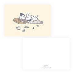 젤리크루 핑팡퐁 엽서