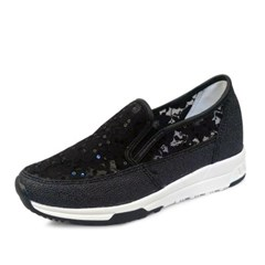 kami et muse Spangle lace 3cm tall up sneakers_KM18s231