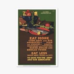 빈티지아트포스터_EAT MORE_0110