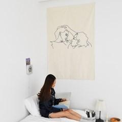 'Closer' Fabric poster (大)