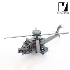3D 이노 메탈 퍼즐 탈것 모형 헬리콥터