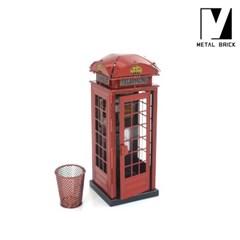 3D 이노 메탈 퍼즐 모형 영국 런던 전화박스