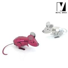 3D 이노 메탈 모형 마우스 (생쥐)