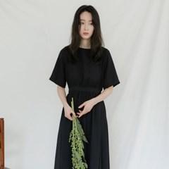 [치즈달] 컷팅 플레어 드레스