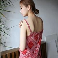 Paisley pattern sleeveless