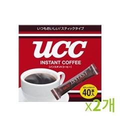 UCC 인스턴트 커피스틱 2g 2곽-80개입_(669904)
