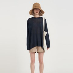 linen boxy knit (5colors)
