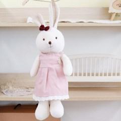 [쏘잉앤맘] 시크릿마더 오가닉 핑크 콩이토끼 애착인형 토끼 인형