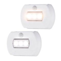 멀티탁 마이티 LED 센서등 무선 계단 현관등 건전지_(885761)