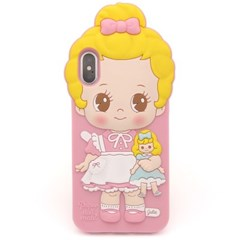 Paper doll mate silicon case  _Julie