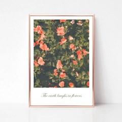 소확행 꽃 - 홈데코 사진포스터