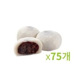 냉동-화과방 통팥 호두 찹쌀떡 70g 3봉묶음-75개입_(673355)