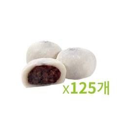 냉동-화과방 통팥 호두 찹쌀떡 70g 5봉묶음-125개입_(673354)