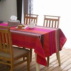 [오리고]테이블 커버 겸 홑이불 BA 네스타스 핑크