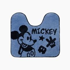 미키 마우스 블루 미키 화장실 매트