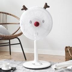 선풍기안전망 루돌프+화이트