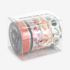 Masking tape 4p set - 04 Fruits