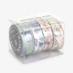 Masking tape 4p set - 03 Flower