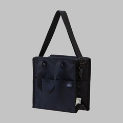 LUNCH BAG - M (BLACK)