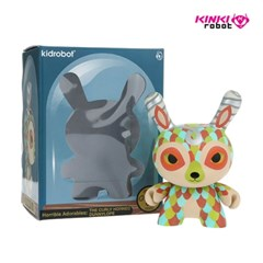 [KINKI ROBOT]5DUNNY CURLY HORNED DUNNYLOPE (1802004)
