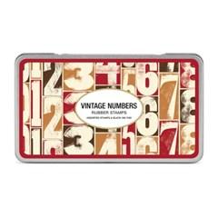 카발리니 빈티지 스탬프 세트-Numbers