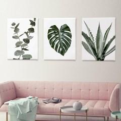 인테리어 식물 그림 액자 메탈 대형_(1331190)