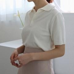 Standard collar knit