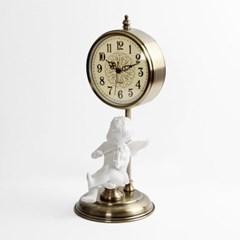 아날로그 빈티지 천사 클래식 시계1개