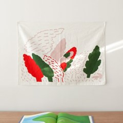 WINDY FOREST FABRIC POSTER