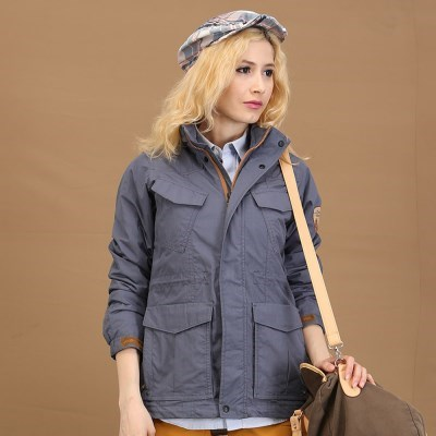 [덕마운트] 아웃도어 여자 봄/가을 사파리 자켓 BABI - D.BLUE