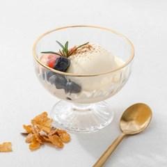 매일리 골드 아이스크림 컵 2p set