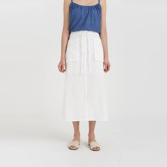 make cotton string skirt (2colors)