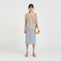 cash thin hald cardigan (3colors)