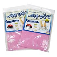 인트래블 여행용 압축백 (2개1세트) 핑크
