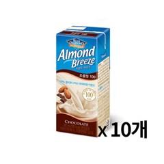 매일 아몬드 브리즈 초콜릿 190ml 10개묶음_(675690)
