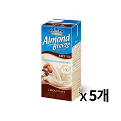 매일 아몬드 브리즈 초콜릿 190ml 5개묶음_(675689)