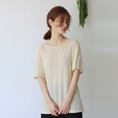 Daily wearable line tee