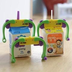 모니 이유식용품 출산 육아 빨대컵 우유팩 우유클립
